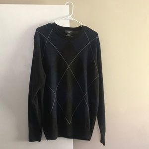 Dockers sweater blue, charcoal, cream XL